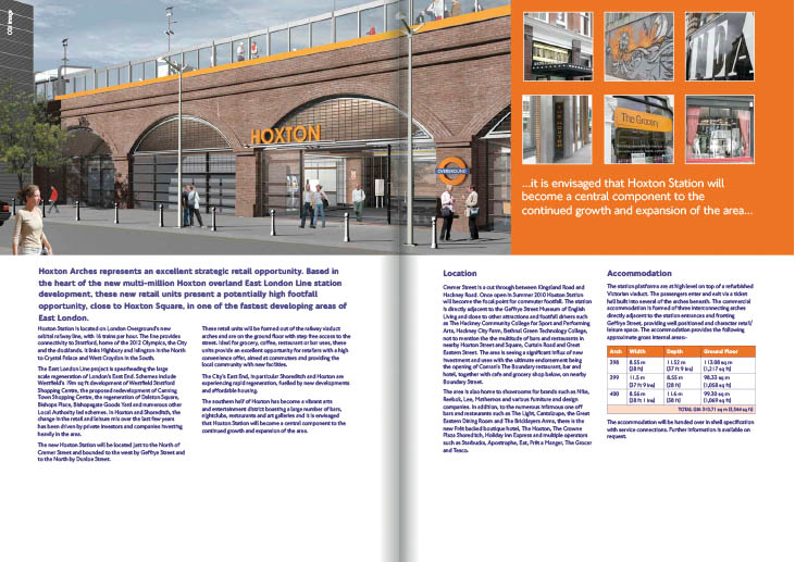 An image of Hoxton Arches Brochure by talltony